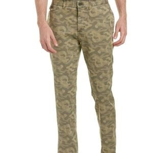 Michael Bastian cotton blend Camo print pants